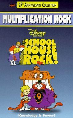 Schoolhouse Rock! - Multiplication Rock [VHS] VHS ~ Jack Sheldon, http://www.amazon.com/dp/1569494096/ref=cm_sw_r_pi_dp_X678qb13SPVPN