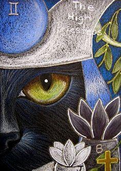 Black Cat Tarot High Priestess