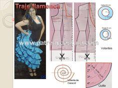 traje de flamenca. Tema 31