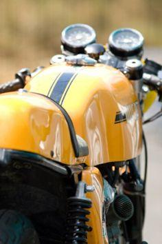 Ducati Cafe Racer #Ducati #CafeRacer #TonUp