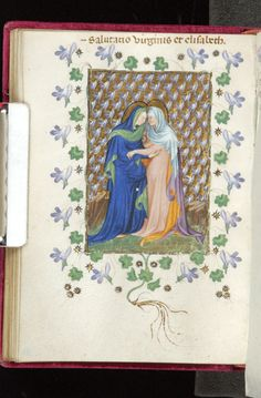 Prayer book, MS M.944 fol. 52v - Images from Medieval and Renaissance Manuscripts - The Morgan Library & Museum