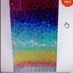 Crystal soil for decor at party