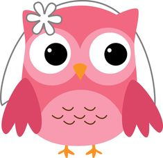 photo by daniellemoraesfalcao minus owls rh pinterest com cute pink owl clip art pink and purple owl clip art
