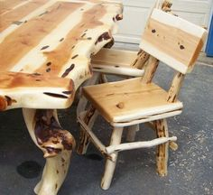 Daves Custom Log Furniture Picyure Gallery, Twisted Juniper And Blue Pine  Furniture