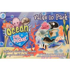 Ocean In My Pocket Value 10 Pack: Amazon.co.uk: Toys & Games