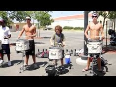 2010 Blue Devils drumline  - 12yr old Brandon center snare...i miss drumline