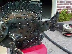 Metal Fish Sculpture (Step By Step How To Sculpt A Bream From Scrap Metal) - YouTube