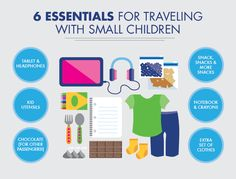 There are must-haves for traveling with small children. Not diapers, wipes, and pacifiers — those are a given. These extras will make your journey smoother.