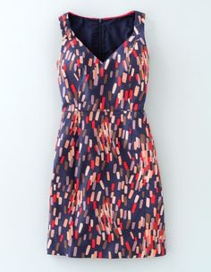 With a cardigan, this dress would be great for work or weekend party. Textured Emma Dress WW033 Day Dresses at Boden
