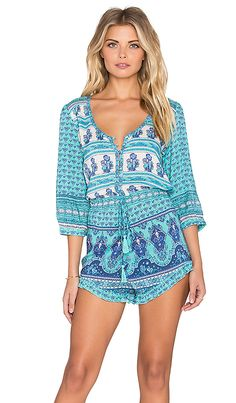 Shop for Spell & The Gypsy Collective Sunset Road Romper in Aqua at REVOLVE. Free 2-3 day shipping and returns, 30 day price match guarantee.