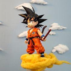 Kid Goku Papercraft | Tektonten Papercraft 3d Paper Crafts, Paper Toys, Attic Game Room, Paper Doll Template, Dragon Ball Z Shirt, Kid Goku, Quilling, Paper Models, Anime Figures