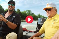 """Screengrab via YouTube Back in the spring, Luke Bryan added a song about legendary fisherman Bill Dance to the deluxe edition of his Born Here Live Here Die Here album. It's an ode to healthy obsessions with bass fishing, on the same expanded album as two other love letters to weekends spent on the water: """"Floatin' This Creek"""" […] The post Luke Bryan Goes Fishing With Tennessee Legend Bill Dance in New Music Video appeared first on Wide Open Country. Going Fishing, Bass Fishing, Luke Bryan, New Music, Tennessee, Mirrored Sunglasses, Music Videos, Album, Dance"""