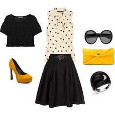 Black . yellow . white. Loveeeeeeeee