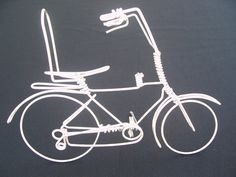 Handmade Schwinn Stingray Bike - Unique Cycling Gifts Ornaments