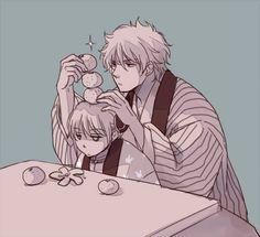 Gintama Gintoki and Kagura