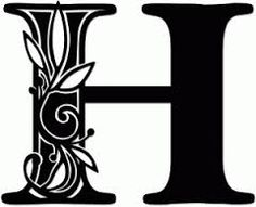 Image result for Monogram H