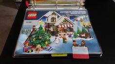 LEGO instructions; 3-ring binder