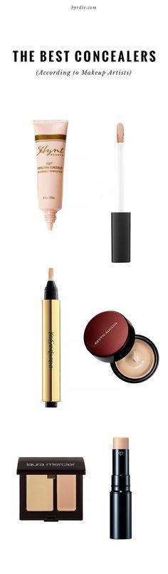 Top makeup artists weigh in on their favorite concealers // via @byrdiebeauty