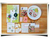 "SALE Christmas time Mini Album / Art Journal Kit December Daily size 5x8"" & 25 printable journaling cards. $25.00, via Etsy."