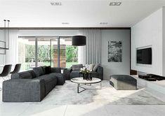 Projekt domu HomeKoncept-31 142,19 m2 - koszt budowy - EXTRADOM Villa Design, House Design, Best Home Plans, Modern Family House, House Plans Mansion, Custom Built Homes, Planer, Bungalow, Mansions