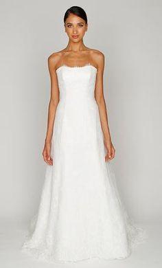 Used Monique Lhuillier Wedding Dress BL1214, Size 4