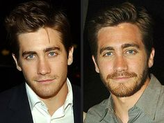 Our celebrity shave of the day is Jake Gyllenhaal. Which look do you prefer? #TheLuxuryBarber #LBmancave