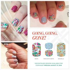 Are any of these your favorite Jamberry wraps?? If so order now, they are going away Sept 1st, email me to order lisavandiver18@gmail.com