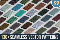 130 Seamless Vector Patterns from Patternous - only $9!