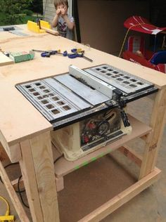 How to Build Your Own Wooden Workbench | Woodworking Session