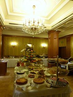 """Prima colazione, """"Grand Hotel Majestic Gia Baglioni"""", Bologna Italia (Marzo)"""
