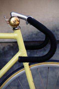 velvet handles + gold bell