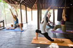 5 vacations that will help you live longer Yoga class at Ashyiana Yoga Retreat. - Lonely Planet Images/Getty Images