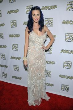 Katy Perry softens her look at 2012 ASCAP Pop Music Awards