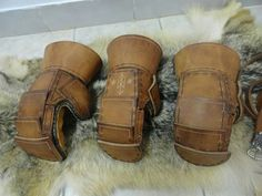 Viking Reenactment combat gloves by simarhl medeival crafts on facebook.