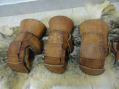 Viking Reenactment combat gloves by simarhl medeival crafts on facebook.