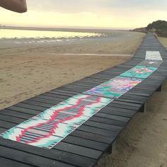 Beach Yoga ready 2 go