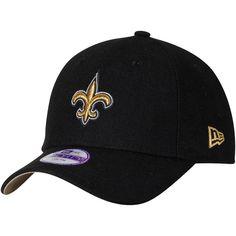 Youth New Orleans Saints New Era Black League 9FORTY Adjustable Hat 06dcf28c47d7
