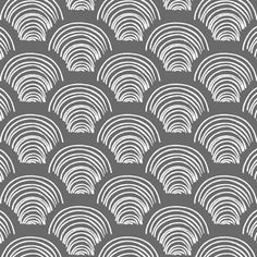 Hawthorne Threads - Etched - Hills in Charcoal