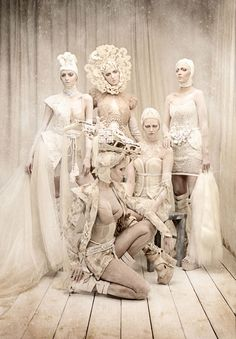 'Amato Haute Couture'  Wonderful fashion photos by Tina Patni