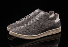 #sneakers #news  Grey Primeknit Adorns The adidas Stan Smith