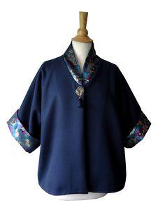 Veste kimono brocart www.boutiqueyeiho.com
