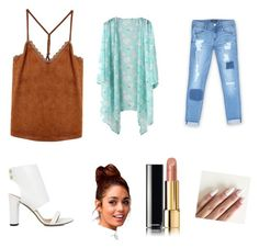 """""""Untitled #39"""" by jazzysamek-1 on Polyvore featuring Bebe, IRO and Chanel"""