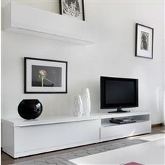 meuble tv mural horizontal down l achatdesign : prix, avis ... - Meuble Tv Composable Design