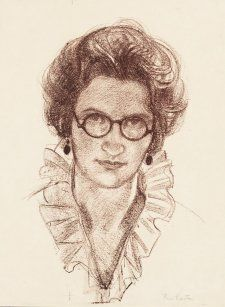 Self portrait, 1921 by Thea Proctor