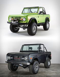 Classic Ford Broncos » Design You Trust. Design, Culture & Society.