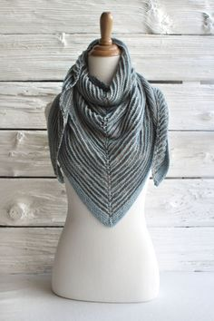 k i want this one too. yum. Shadow Shawl - free pattern from Manos del Uruguay, using the Serena yarn.