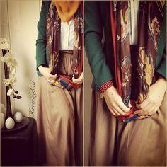green hijabi blazer