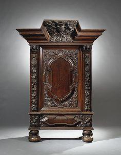 A German cupboard or 'Danziger Schapp' - Baroque, 17th century