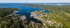 Boothbay Harbor, Maine. (Photo Credit: Maine Imaging.)