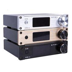 SMSL Q5 Pro 45Wx2 HiFi 2.0 Pure Digital Audio Power Amplifier 24bit/96kHz USB DAC/Optical/Coaxial With Remote Control